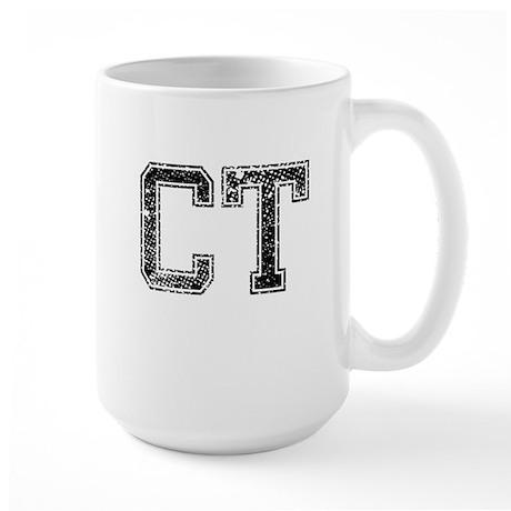 CT, Vintage Large Mug