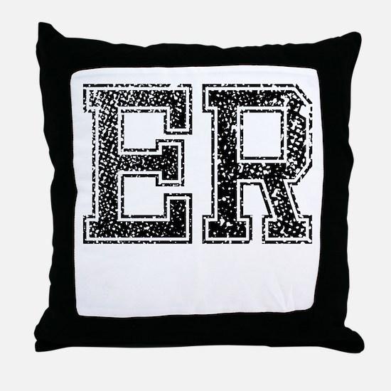 ER, Vintage Throw Pillow