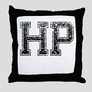 HP, Vintage Throw Pillow
