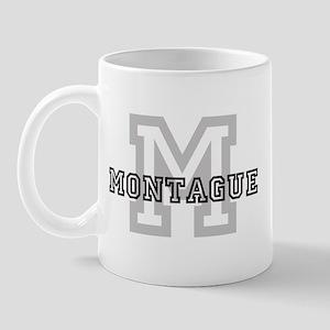 Montague (Big Letter) Mug