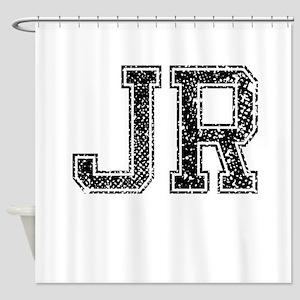 JR, Vintage Shower Curtain