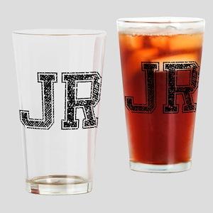 JR, Vintage Drinking Glass
