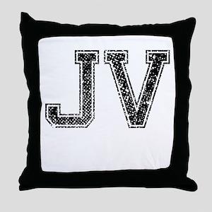 JV, Vintage Throw Pillow