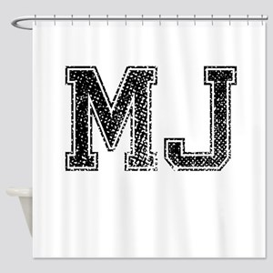 MJ Vintage Shower Curtain