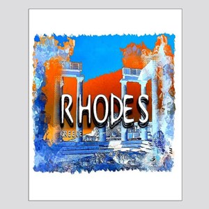 rhodes Small Poster