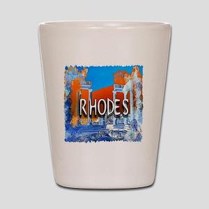rhodes Shot Glass
