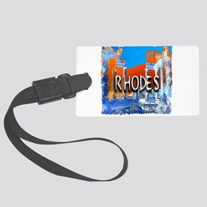 rhodes Large Luggage Tag