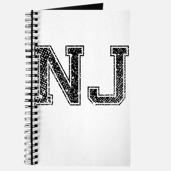 NJ, Vintage Journal