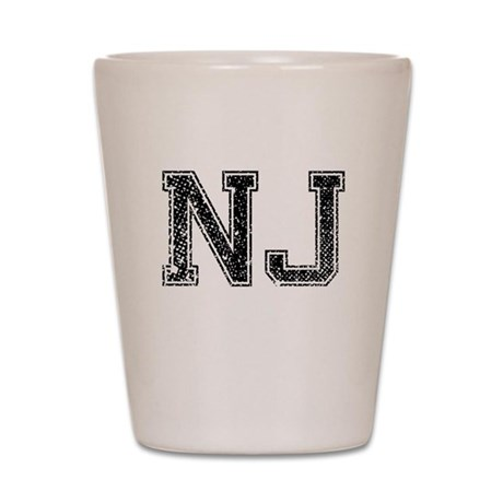 NJ, Vintage Shot Glass