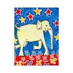 Yellow Elephant Single Duvet Cover