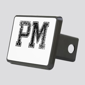 PM, Vintage Rectangular Hitch Cover