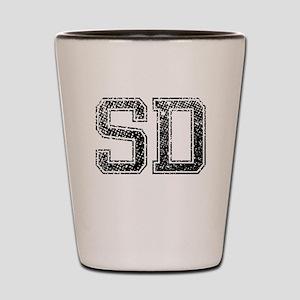 SD, Vintage Shot Glass