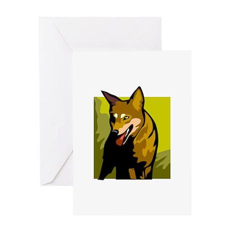 Dingo Greeting Card