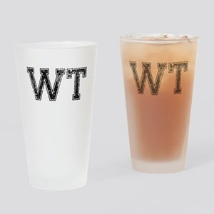 WT, Vintage Drinking Glass