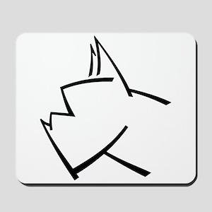 American Boxer Dog Mousepad