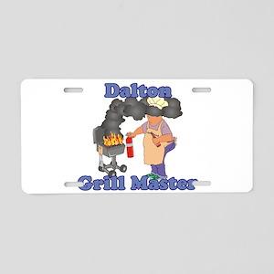 Grill Master Dalton Aluminum License Plate
