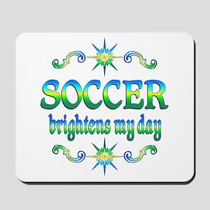 Soccer Brightens Mousepad