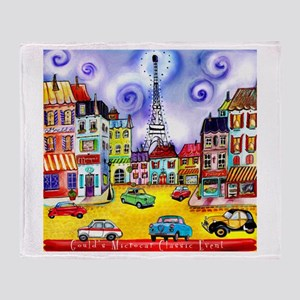 Goulds 17th Microcar Classic Event Throw Blanket