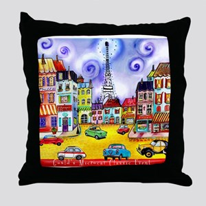 Goulds 17th Microcar Classic Event Throw Pillow