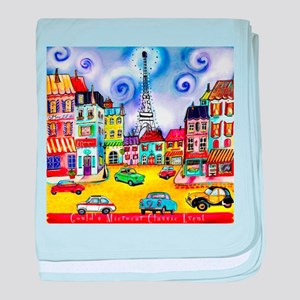 Goulds 17th Microcar Classic Event baby blanket