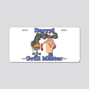 Grill Master Darryl Aluminum License Plate