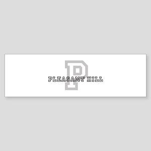 Pleasant Hill (Big Letter) Bumper Sticker