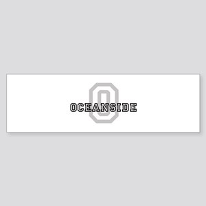 Oceanside (Big Letter) Bumper Sticker