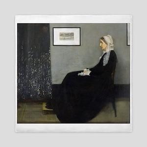 Whistler's Mother Queen Duvet