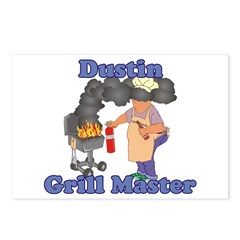 Grill Master Dustin Postcards (Package of 8)