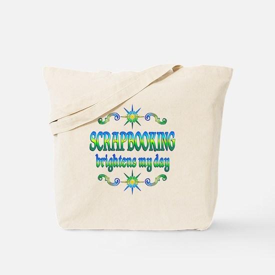 Scrapbooking Brightens Tote Bag