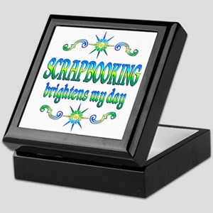 Scrapbooking Brightens Keepsake Box