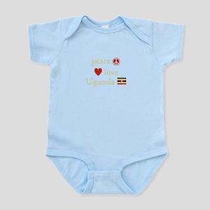 Peace, Love and Uganda Infant Bodysuit