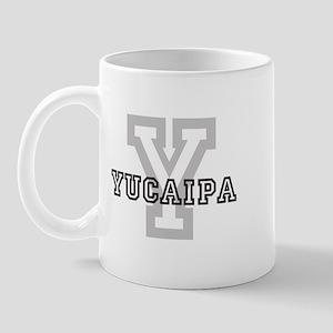 Yucaipa (Big Letter) Mug