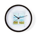 Window #4 Wall Clock