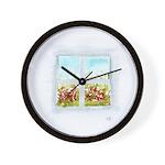 Window #2 Wall Clock