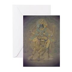 Saturn Greeting Cards (6) (for nr.8 peop