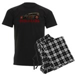30RatTudor-biohazard Men's Dark Pajamas