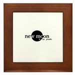 New Moon in La Push Framed Tile