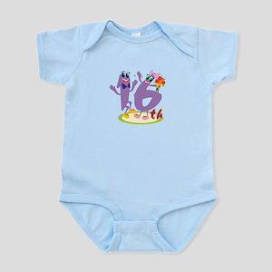 16th Celebration Infant Bodysuit