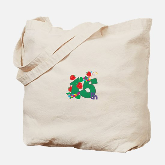15th Celebration Tote Bag