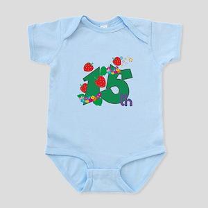 15th Celebration Infant Bodysuit