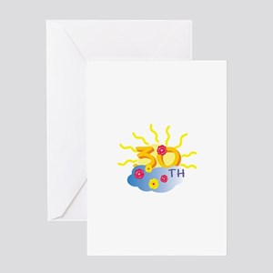 30th Celebration Greeting Card