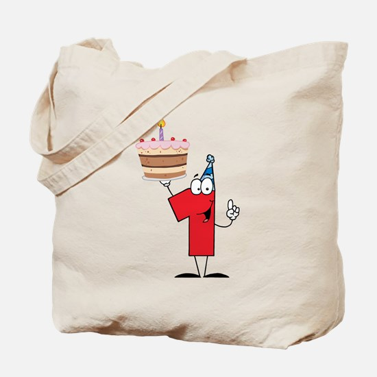 1st Celebration Tote Bag