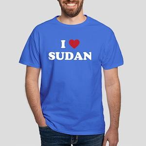 I Love Sudan Dark T-Shirt