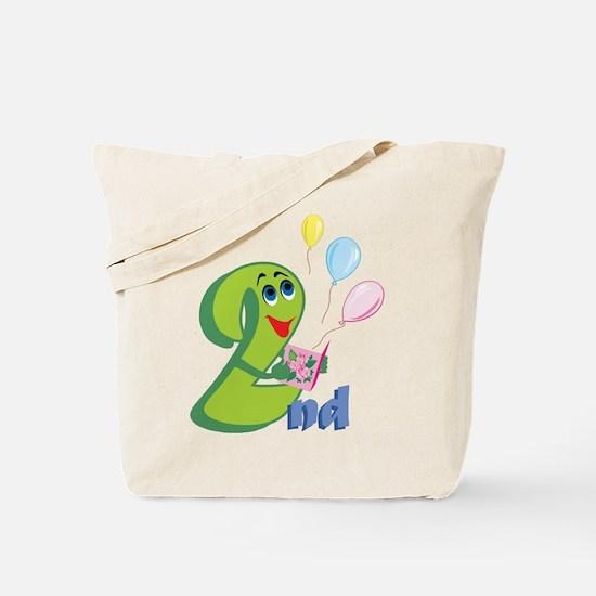 2nd Celebration Tote Bag