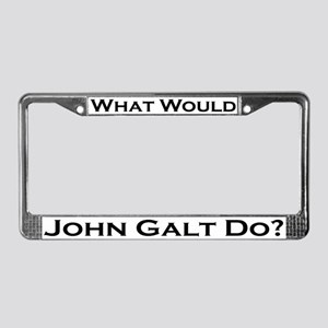 What Would John Galt Do License Plate Frame