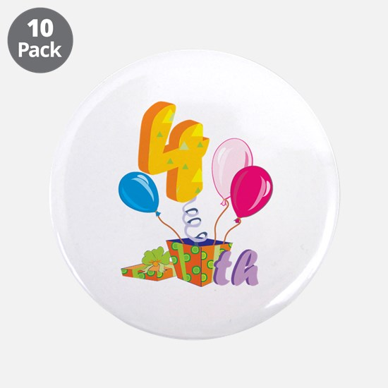 "4th Celebration 3.5"" Button (10 pack)"