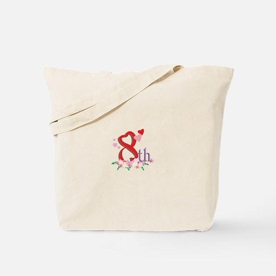 8th Celebration Tote Bag