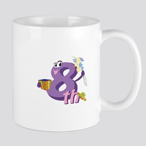 8th Celebration Mug