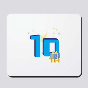 10th Celebration Mousepad